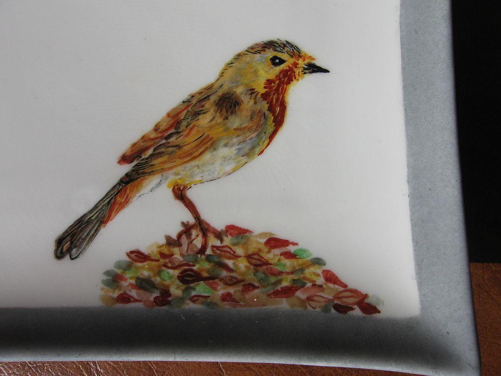 Album - Assiettes-oiseaux