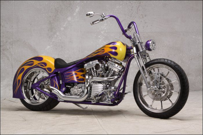 Most Famous Bikes from The official website of the AMD Official World and European Championship of Custom Bike Building