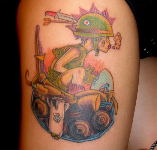 tattoos of babes