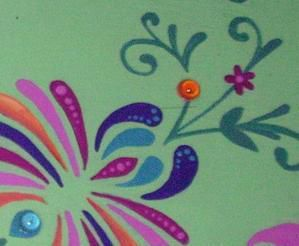 Sur un support toile, sur de vieux plateaux de cantine, sur du papier, ou encore sur un cadre ancien récupéré et transformé en plateau, voici quelques travaux, principalement à la peinture acrylique.