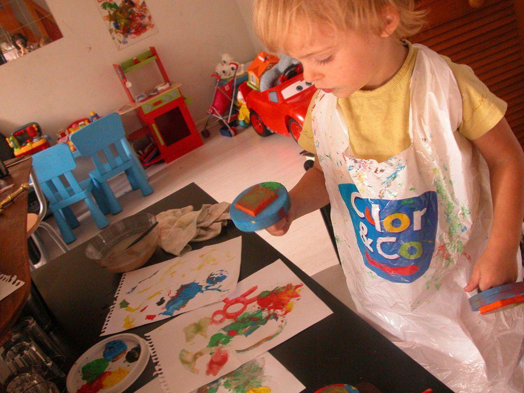 Album - 10.09.02-Louca-fait-de-la-peinture