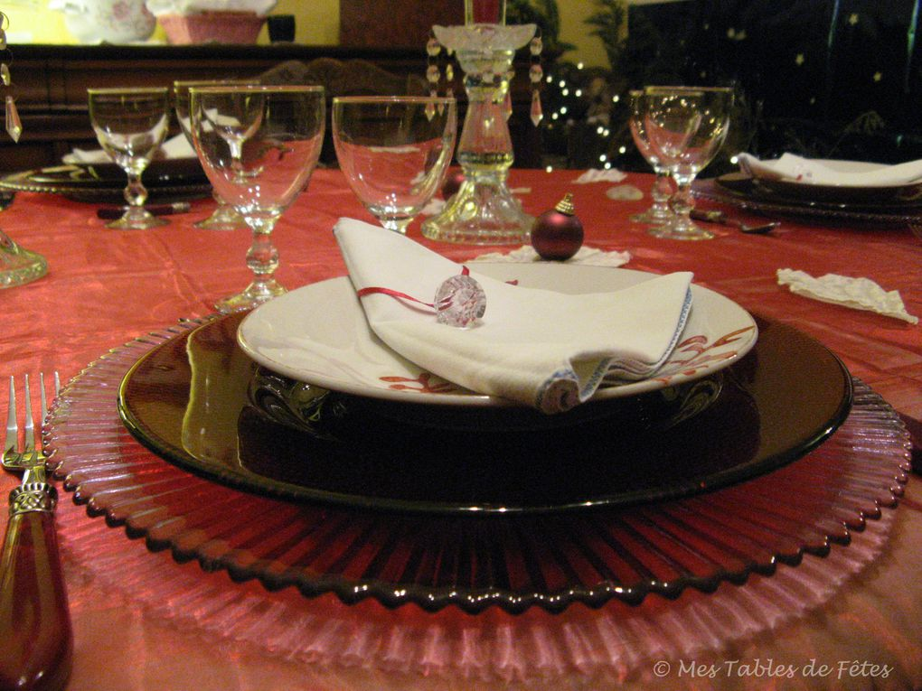Album - Tables Noël 2009