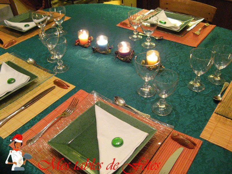 Album - Tables Noël  2007