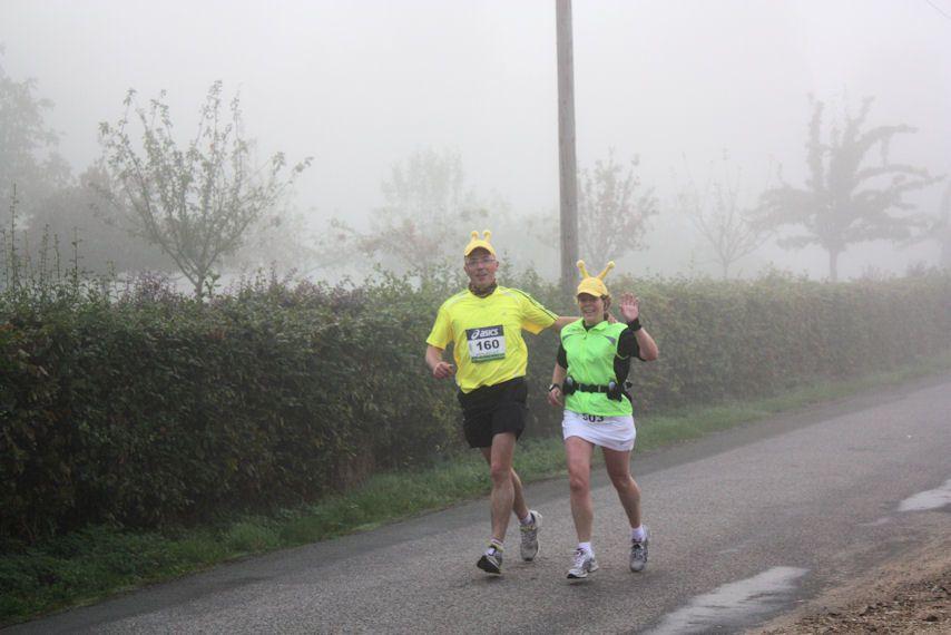 Marathon Seine-Eure 2009 vu d'Acquigny