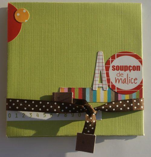 mini album antonin sur cardstock blanc, papiers Bazzil texturé feuilles, uni chocolat et Kesi'artphotos sépia