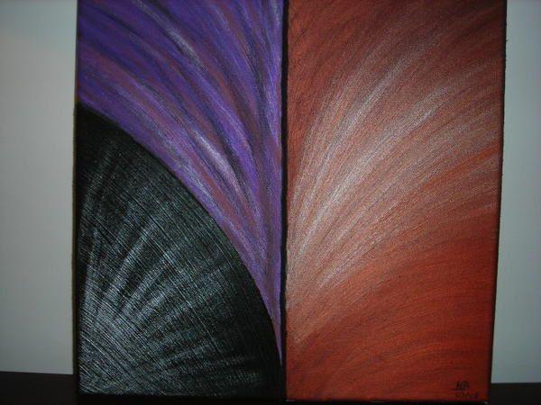 Le lien entre la cusine et la peinture, c'est la création, le mélange de matières, de produit, de couleurs...voici donc ma deuxième passion. La peinture à l'huile!