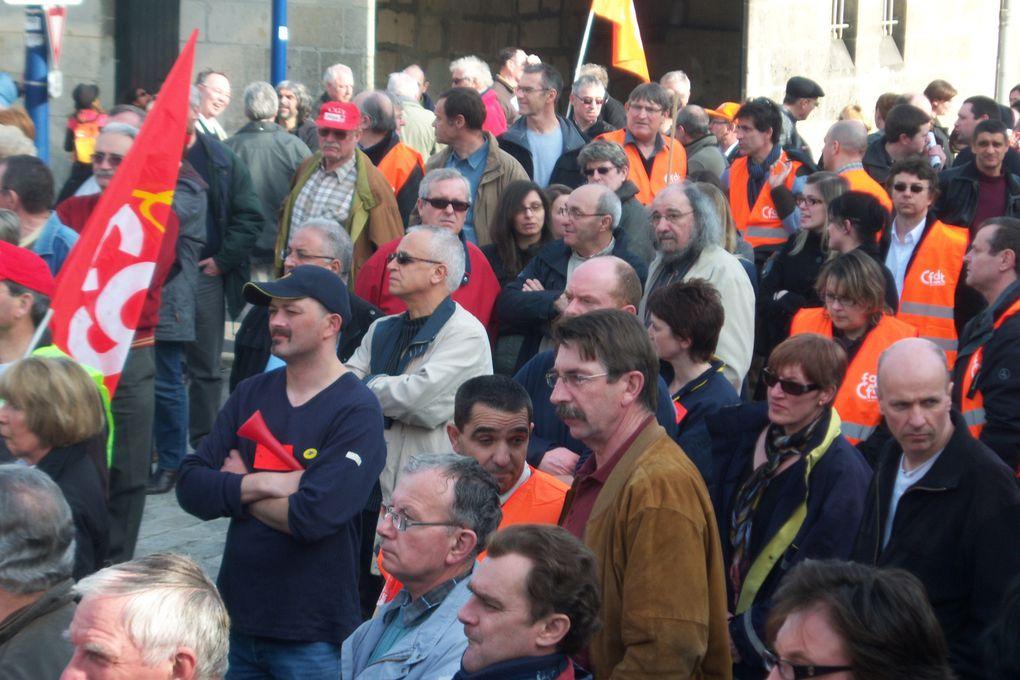 Rassemblement du 23 mars à Soissons pour l'emploi, les salaires et les retraites...