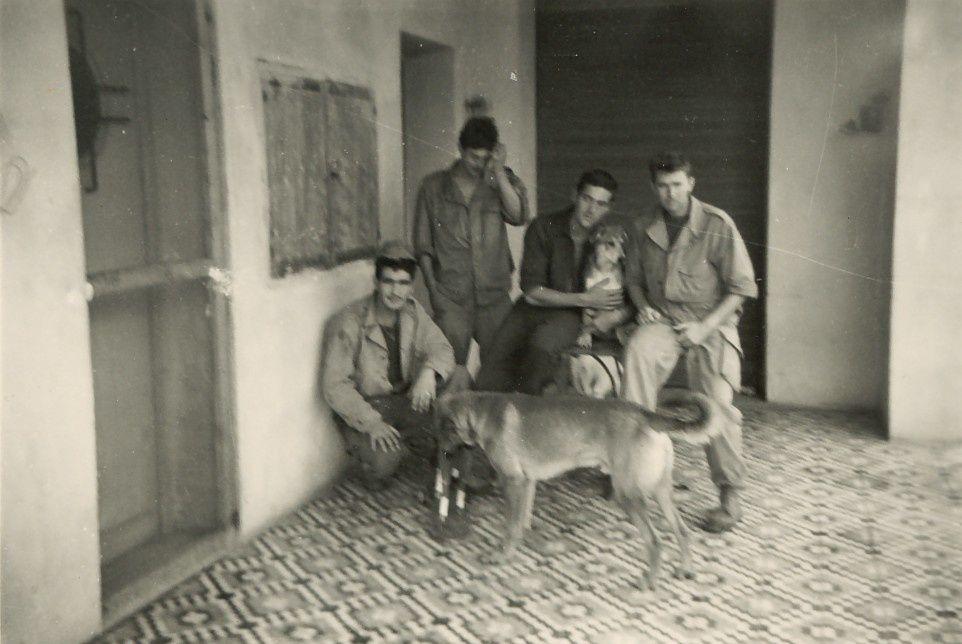 photos des années 1960 et 2011 communiquées par un habitant de Fromentin. photos de la ferme GUY.