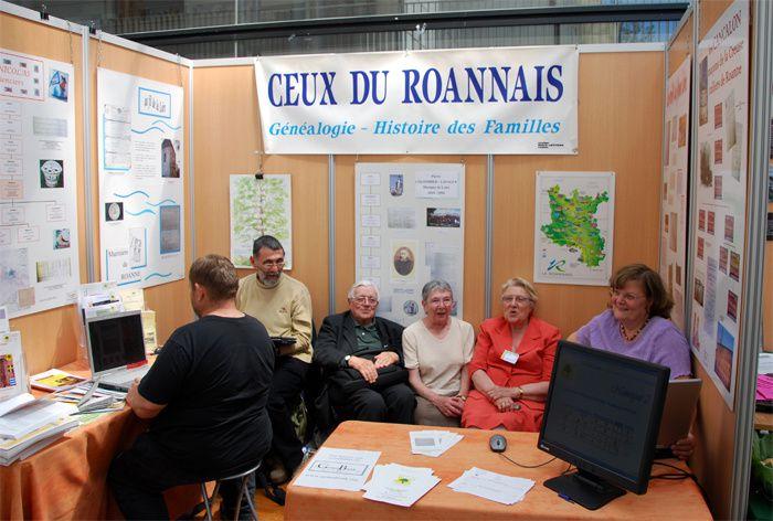 Photos des stands du congrès de Champs 2009