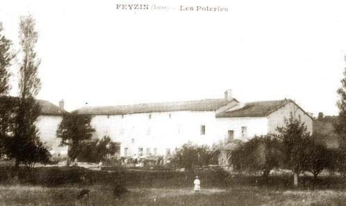 La poterie Paillet en 1966 juste avant sa démolition