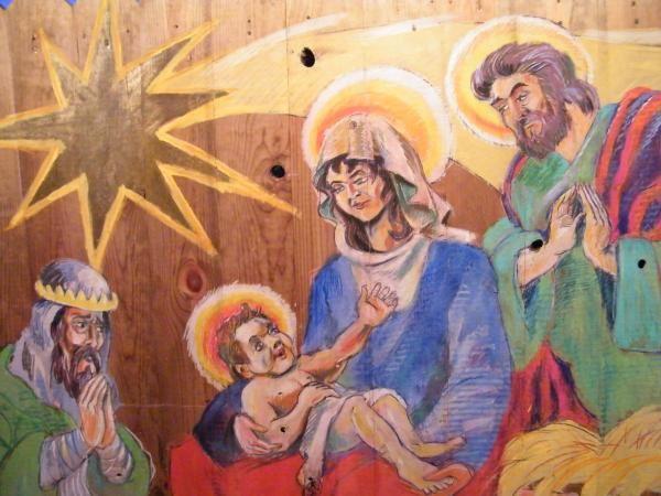 Histoire des crèches,santons et traditions provençales.Décorations de noël.