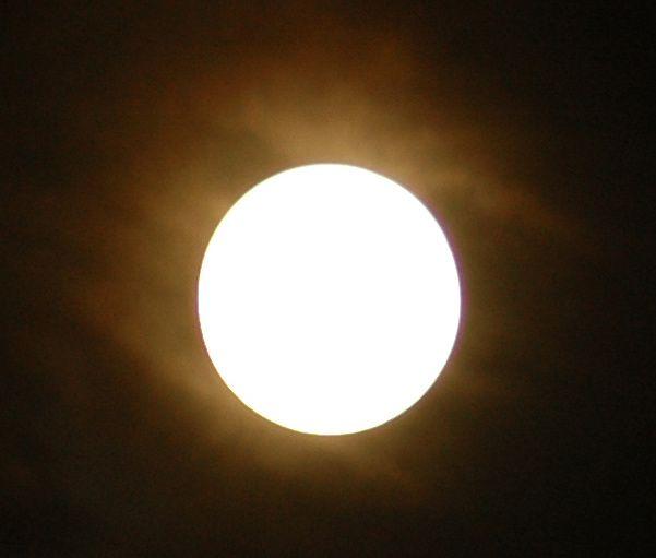 Eclipse de lune du 15 juin 2011
