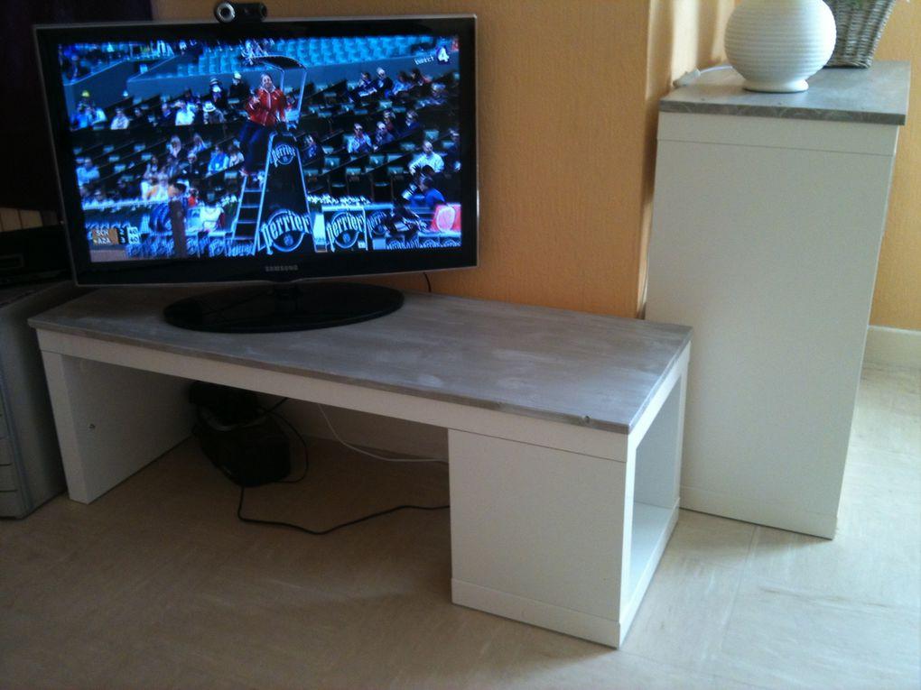 Album - Relookage Table Lack Ikéa en Meuble TV