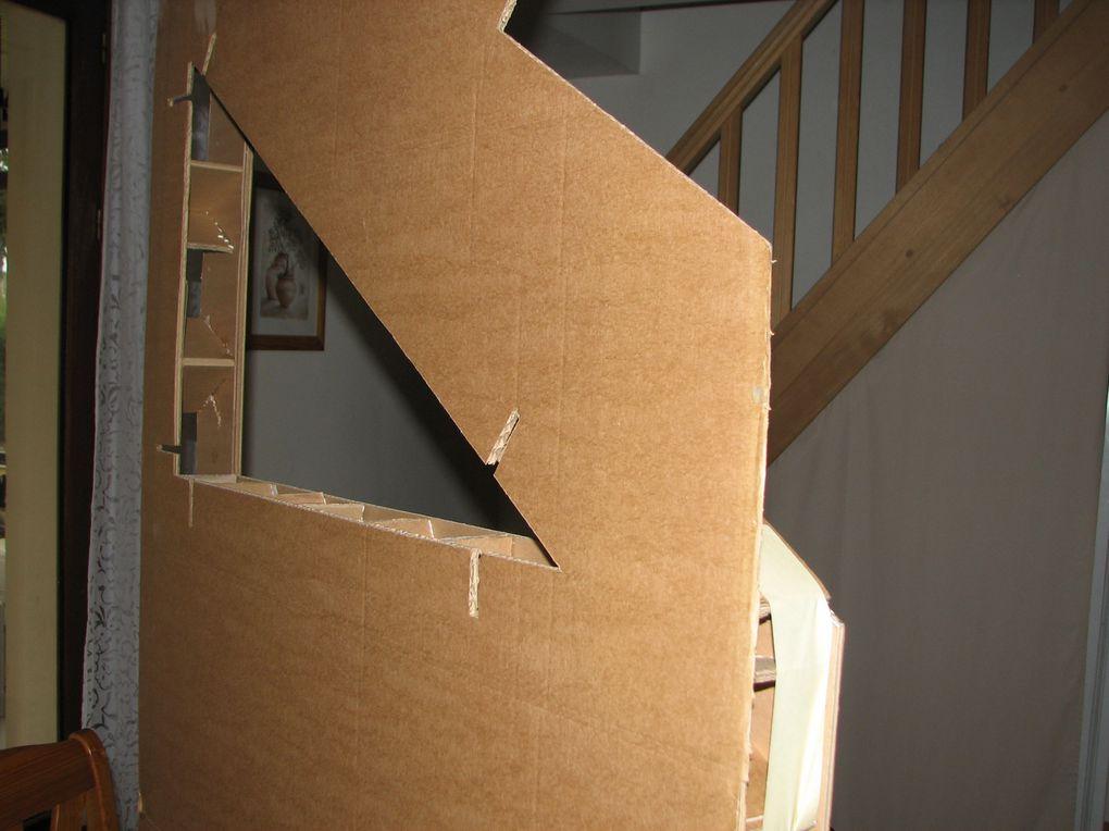 Aménagement d'une tête de lit personnalisée et sur mesure pour Florian