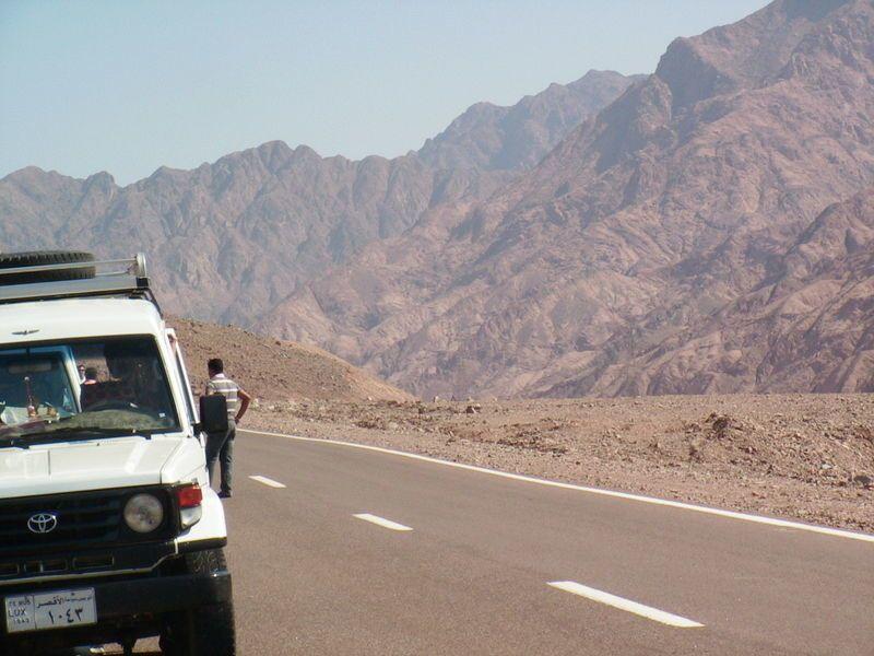 Taba, montage du Sinai, ce lieu  appelle à la méditation....