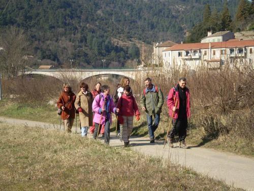 Au départ des Ollières - le 19 février 2009