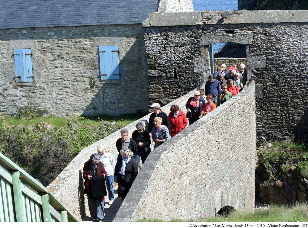 13 mai 2010-randonnée pédestre et visite du fort de Bertheaume.