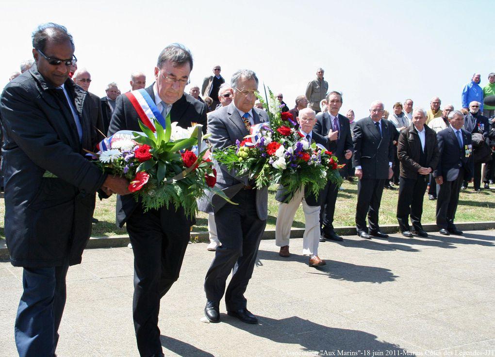 le 18 juin 201 - hommage aux marins du Pays de Lesneven et de la Côtes des Légendes.