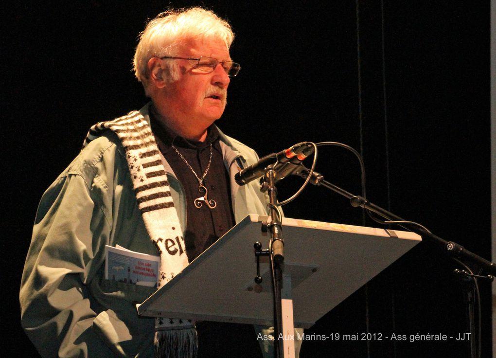 Samedi 19 mai 2012- assemblée générale de l'association Aux Marins à l'espace Keraudy - photographies : Jean-Jacques Tréguer (ass. Aux Marins)