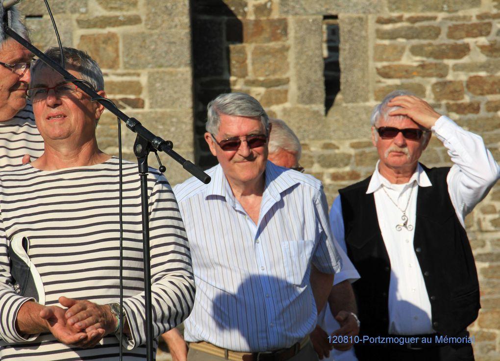 10août 2012-500ème anniversaire de la disparition d'Hervé de Portzmoguer - dit Primauguet - organisé par l'ass Aux Marins au Mémorial National des marins morts pour la France de la Pointe Saint Mathieu. Photos : Jean-Jacques Tréguer