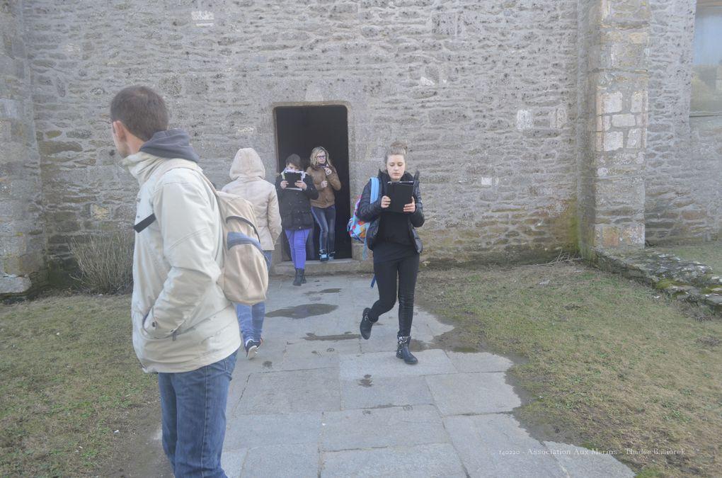 14 février 2014 - visite d'un collège de la Haute-Marne.Photographies : Thadée Kasiorek (association Aux Marins)