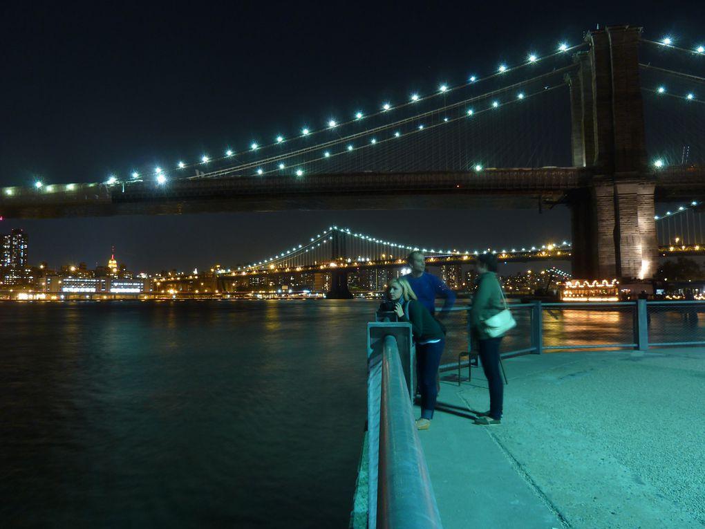 Album - Brooklyn Bridge by night