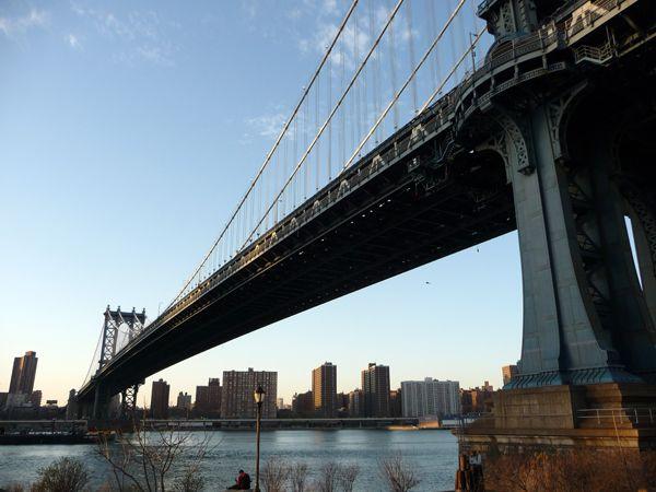 Ballade entre les deux ponts célèbres de NYC.