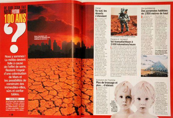 Quelques magazines dont j'ai dirigé la maquette.