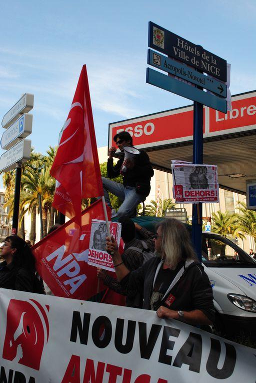 Les manifestations pour les retraites.Photos de Ludivine et Yann.