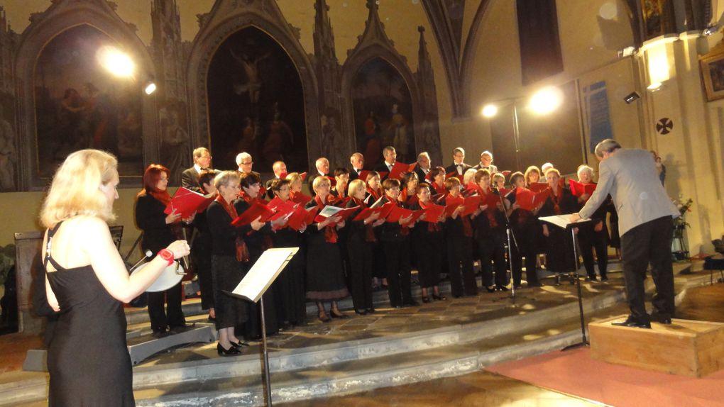 """Concert de fin de saison 2011-2012 à l'Eglise de Plaisance avec la participation du Quatuor à cordes """"Schiller"""" et du Chœur d'hommes """"Résonances"""""""