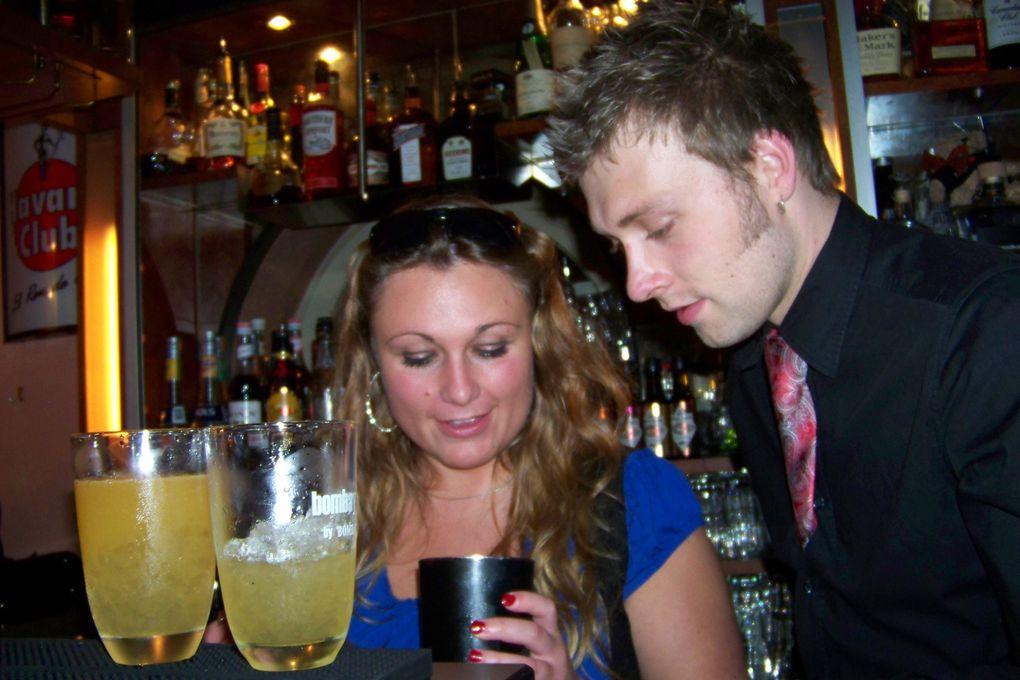 Unser erster Cocktail Kurs in einer schönen Runde mit guten Freunden