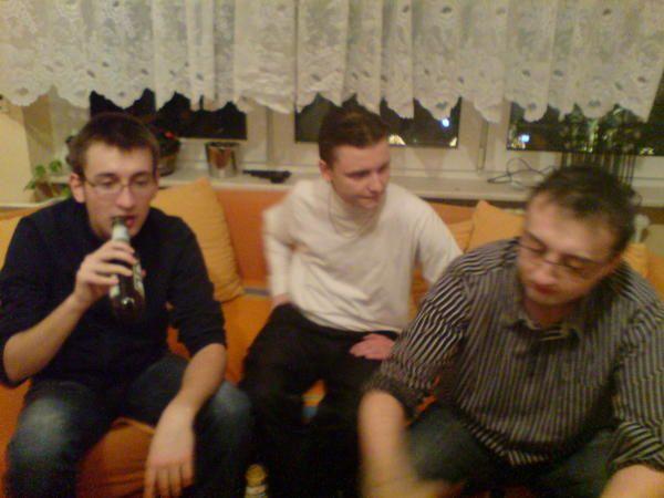 Feiern in der neuen Wohnung is auch net schlecht!!!