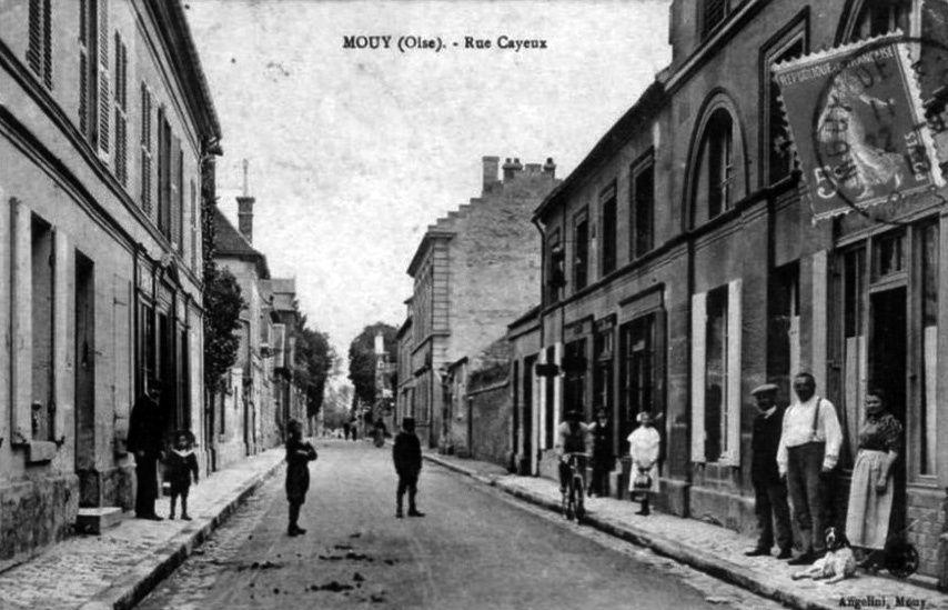 Album - la ville de Mouy (Oise), les places et les rues