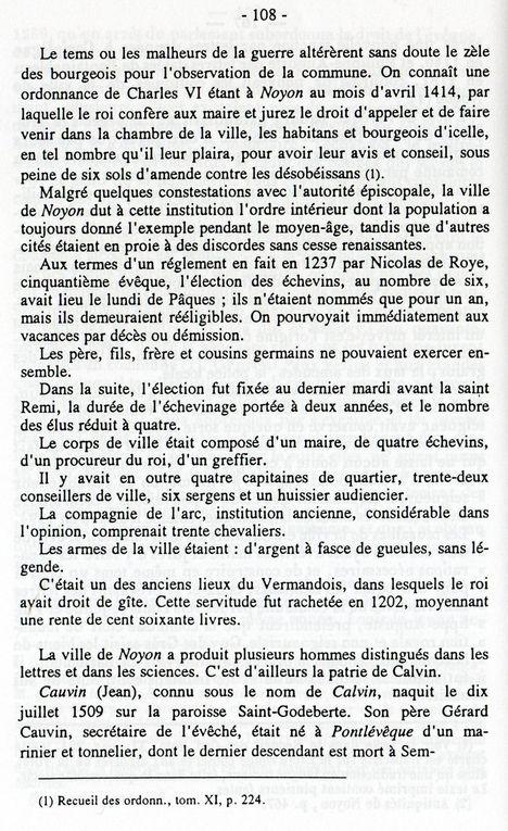 Album - la ville de Noyon (Oise), son Histoire