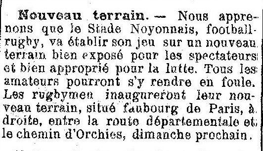 Album - la ville de Noyon (Oise), au fil des mois au cours des années 1840 à 1929