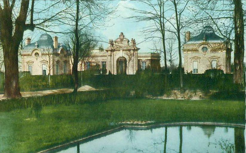 Album - le village de Blérancourt (Aisne), le château