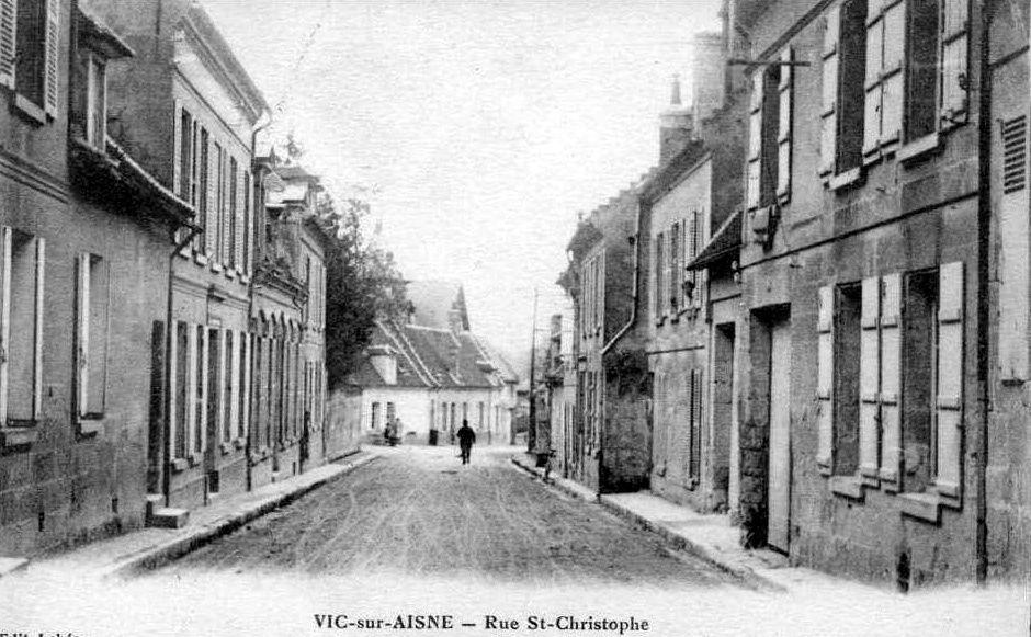 Album - le village de Vic sur Aisne, les rues, routes, et places