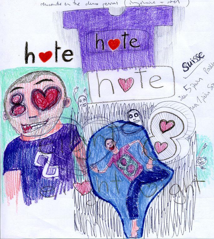 amour et haine, haine et amour, un choix difficile...
