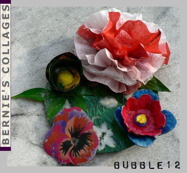 3 fleurs différentes au moins.. crees par vous!! merci les filles, il manque lunaplume, clic droit bloqué .. bisous