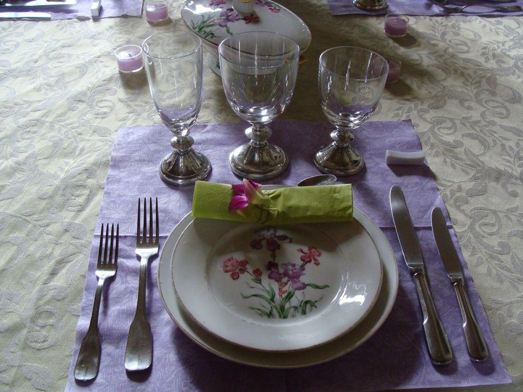 TABLE FETE DES MERES TABLE DEFI FASHION COUTURE