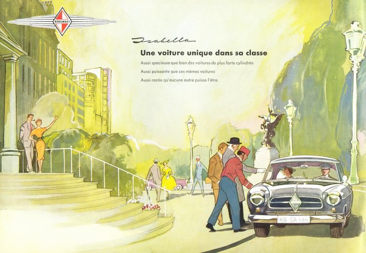 Publicités artistiques de marques prestigieuses.Source: CARCATALOG