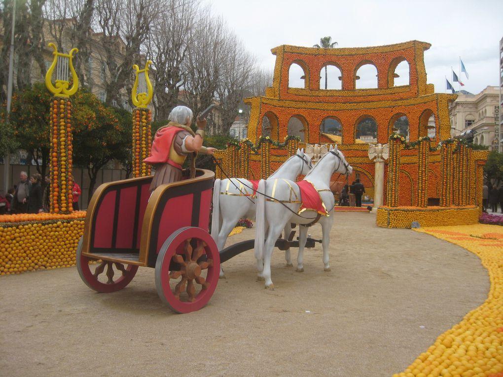 La fête du citron à Menton 2010. A festa dou liman a Mentan 2010