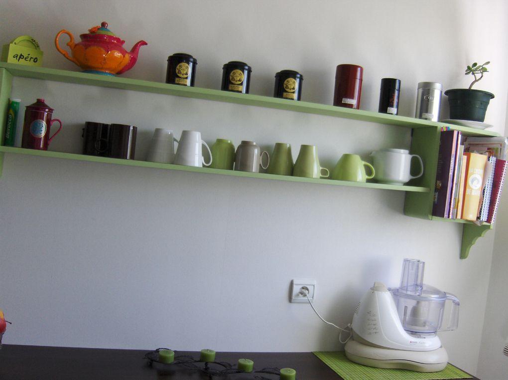 Petite présentation de l'endroit où je prépare mes petits plats...