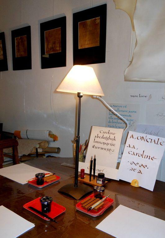 Ateliers Plume &amp&#x3B; Or, calligraphie et enluminure