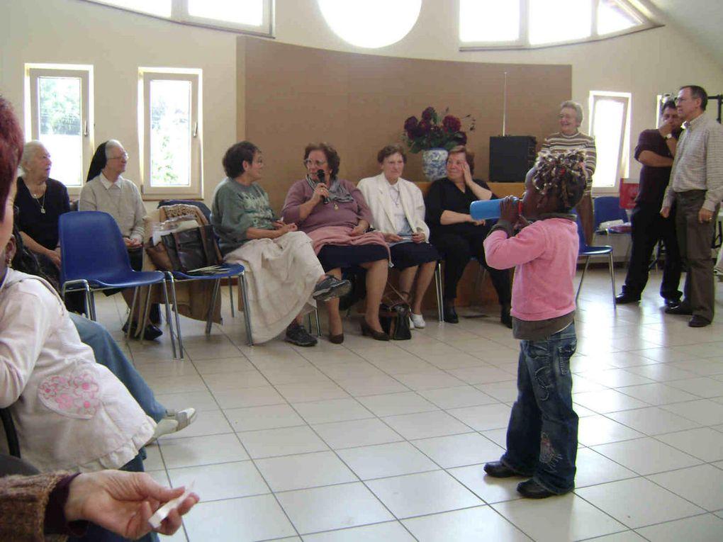Pèlerinage à Banneux de l'Unité pastorale Notre-Dame des Ponts aux Rives d'Outremeuse (20 septembre 2008)