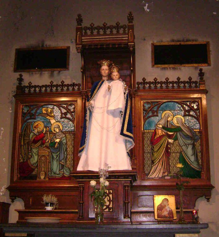 """<div style=""""text-align: center&#x3B;""""><br><b>BIENVENUE !</b><br><br>Visite guidée de l'église Notre-Dame du Rosaire à Bressoux (Liège)</div>"""