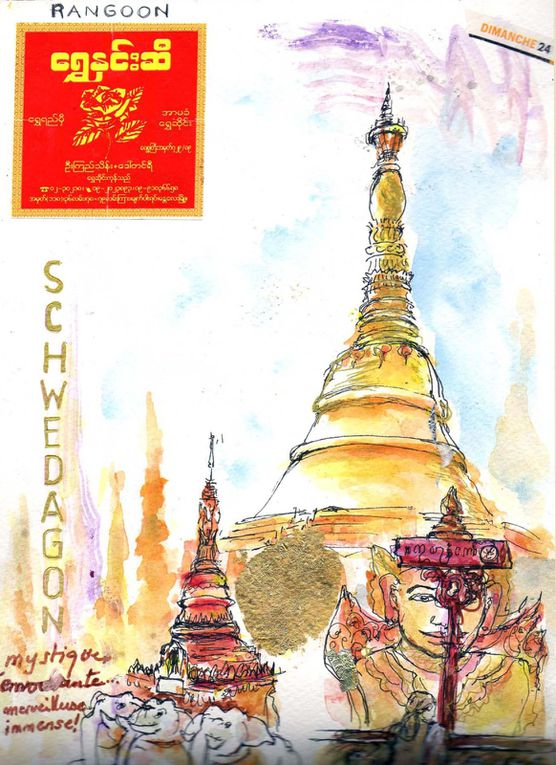 mon carnet et photos de voyage en Birmanie en avril 2013