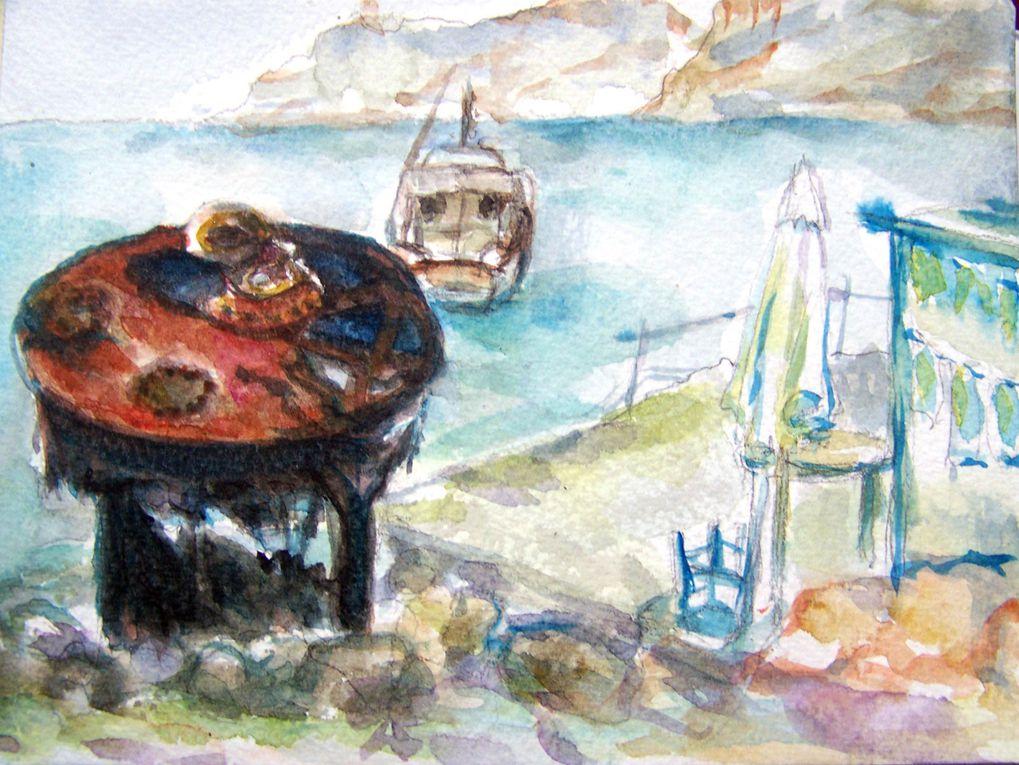 Mon carnet de voyage à Paros  (Ile des Cyclades en Grèce) ETE 2010 (du 3 au 0/7/10)