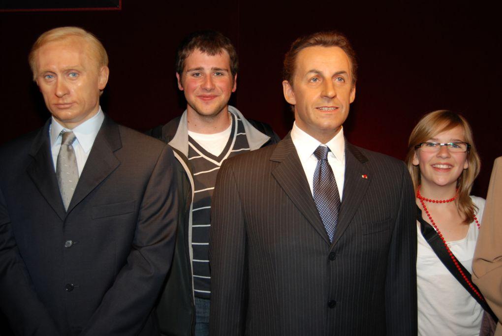 Sortie du 16 mais 2009 : Sénat, Tour Eiffel, Musée Grévin