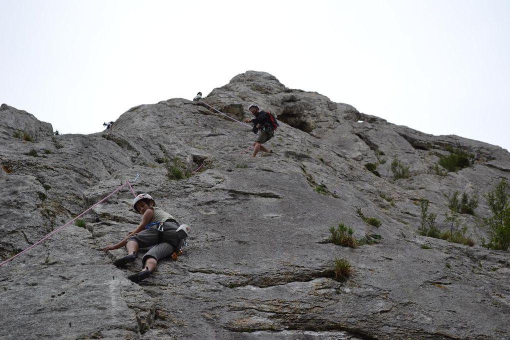 week end escalade le 9 et 10 juin 2012 aux Dentelles de Montmirail